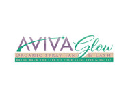 AVIVA Glow - Organic Spray Tan & Lash Logo - Entry #61