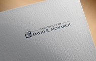Law Offices of David R. Monarch Logo - Entry #174