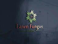 Lawn Fungus Medic Logo - Entry #109