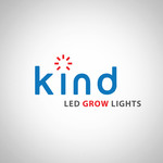 Kind LED Grow Lights Logo - Entry #117
