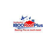 1-800-Roof-Plus Logo - Entry #6