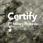 Military Pedigree Logo - Entry #150