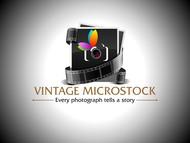 Vintage Microstock Logo - Entry #37