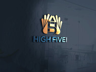 High 5! or High Five! Logo - Entry #45