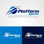 "Platform Sports "" Equipping the leaders of tomorrow for Greatness."" Logo - Entry #11"