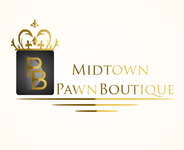 Either Midtown Pawn Boutique or just Pawn Boutique Logo - Entry #93