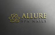 Allure Spa Nails Logo - Entry #185