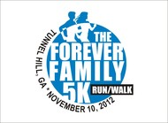 The Forever Family 5K Logo - Entry #23