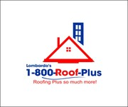 1-800-Roof-Plus Logo - Entry #69