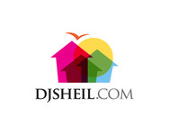 search the town .com     or     djsheil.com Logo - Entry #119