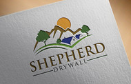 Shepherd Drywall Logo - Entry #237