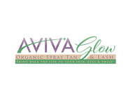 AVIVA Glow - Organic Spray Tan & Lash Logo - Entry #58
