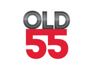 """""""OLD 55"""" - mid-century vintage furniture and wares store Logo - Entry #10"""