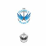 The Flying V Ranch Logo - Entry #19