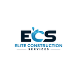 Elite Construction Services or ECS Logo - Entry #270