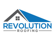 Revolution Roofing Logo - Entry #63