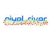 Pixel River Logo - Online Marketing Agency - Entry #49