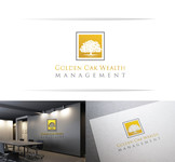 Golden Oak Wealth Management Logo - Entry #156