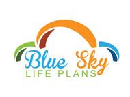 Blue Sky Life Plans Logo - Entry #401