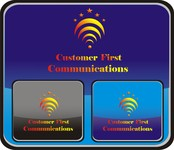 Customer First Communications Logo - Entry #45
