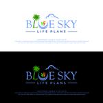 Blue Sky Life Plans Logo - Entry #398