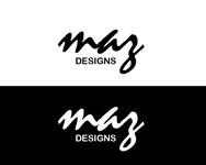 Maz Designs Logo - Entry #353
