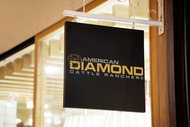 American Diamond Cattle Ranchers Logo - Entry #104