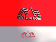 Mast Metal Roofing Logo - Entry #260