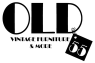 """""""OLD 55"""" - mid-century vintage furniture and wares store Logo - Entry #187"""