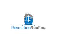 Revolution Roofing Logo - Entry #402
