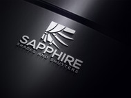 Sapphire Shades and Shutters Logo - Entry #24
