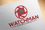 Watchman Surveillance Logo - Entry #209