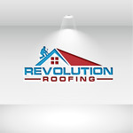 Revolution Roofing Logo - Entry #79