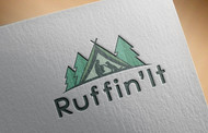 Ruffin'It Logo - Entry #17