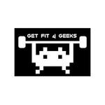 GET FIT 4 GEEKS Logo - Entry #15