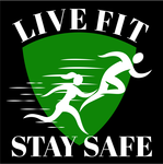 Live Fit Stay Safe Logo - Entry #10
