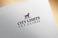 City Limits Vet Clinic Logo - Entry #158