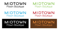 Either Midtown Pawn Boutique or just Pawn Boutique Logo - Entry #4