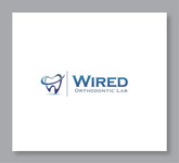 Wired Orthodontic Laboratory Logo - Entry #7