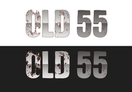 """""""OLD 55"""" - mid-century vintage furniture and wares store Logo - Entry #45"""