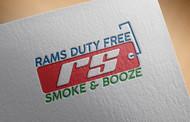 Rams Duty Free + Smoke & Booze Logo - Entry #218