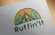 Ruffin'It Logo - Entry #62