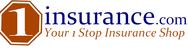 1insurance.com Logo - Entry #1