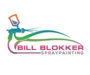Bill Blokker Spraypainting Logo - Entry #134