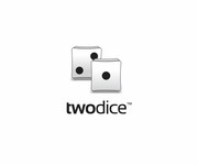 Two Dice Logo - Entry #3