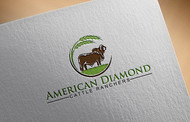 American Diamond Cattle Ranchers Logo - Entry #38