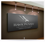 Hawk Private Investigations, Inc. Logo - Entry #70