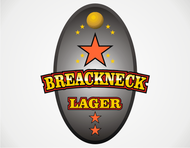 Breakneck Lager Logo - Entry #49