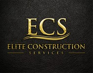 Elite Construction Services or ECS Logo - Entry #341