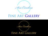 Ana Carolina Fine Art Gallery Logo - Entry #211